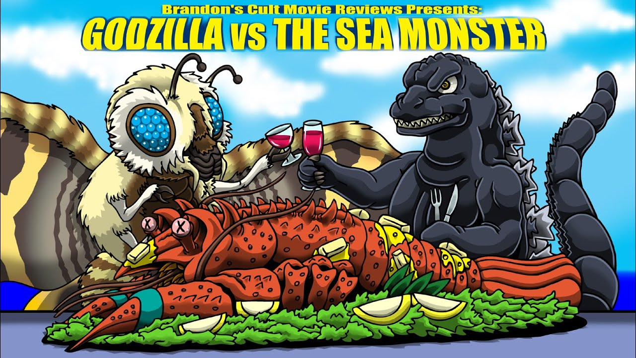 Brandon's Cult Movie Reviews: Godzilla vs. The Sea Monster - YouTube