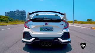 LOUD Honda Civic Type R FK8 w/ Armytrix Valvetronic Exhaust!