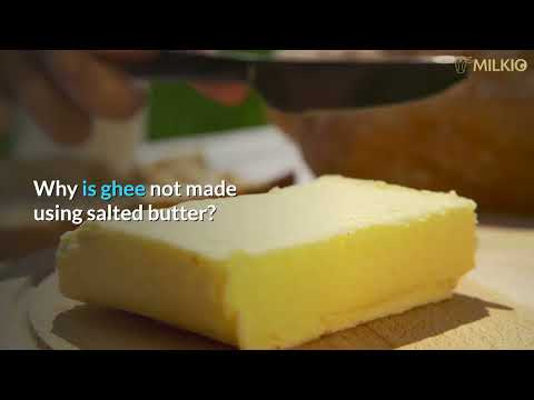 Can You Make Ghee with Salted Butter? Facts untold