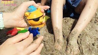 바다탐험대 옥토넛 모래 놀이 4편 Octonauts Sand Play Toys おもちゃ đồ chơi ของเล่น 뽀로로 라임튜브