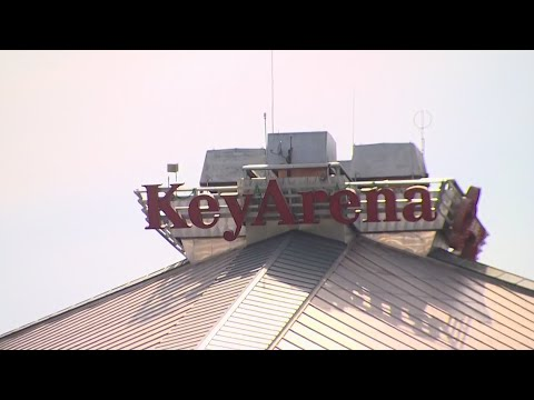 Iconic KeyArena sign