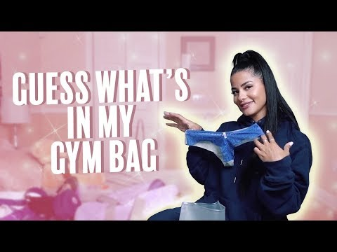 Whats In My Gym Bag! | Katya Elise Henry