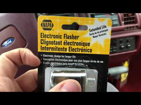 1990 Ford Tempo Flasher Relay Replacement