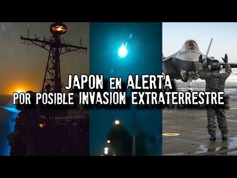 Japón se prepara para una invasión extraterrestre