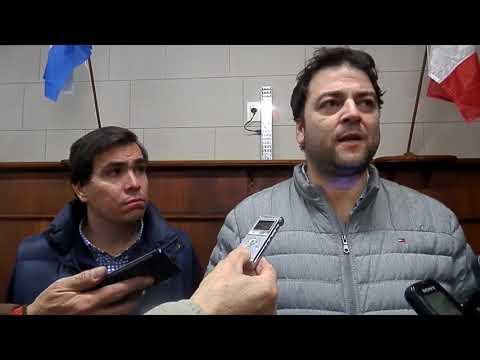 Ministro Producción-Javier Tizado-Intendente Mariano Barroso-Dip. Mauricio Vivani- Nueve de Julio