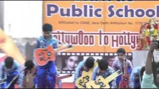 papa kehte hain bada naam karega, Dance by Rawat Public School Students