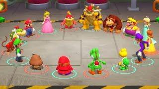 Super Mario Party - Mario & Wario vs Luigi & Waluigi - MiniGames