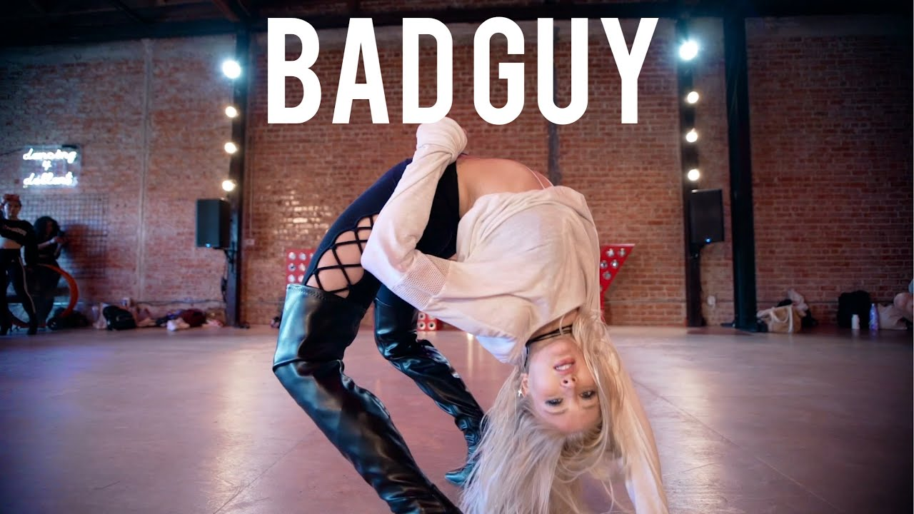 bad guy - Billie Eilish - Choreography by Marissa Heart | Heartbreak Heels