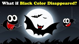 What if Black Color Disappeared? | #aumsum #kids #science #education #children