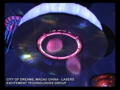 """City of Dreams Macau: """"Dragon's Treasure""""  Laser Elements"""
