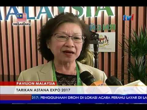 PAVILION MALAYSIA DI KAZAKHSTAN - TARIKAN ASTANA EXPO 2017 [15 JUN 2017]