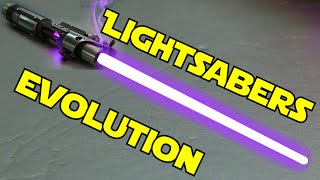 Эволюция световых мечей | Evolution of lightsabers
