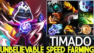 TIMADO [Anti Mage] Unbelievable Speed Farming Full 9 Slotted 1000 GPM 7.22 Dota 2