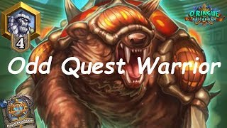Hearthstone: Odd Quest Warrior #3: Rastakhan's Rumble - Standard Constructed Post-Nerf