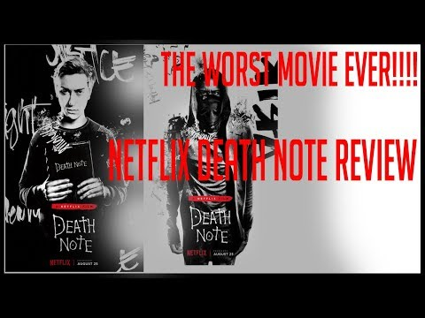 Death Note Netflix Movie Review | Death Note Live Action Movie Review #1