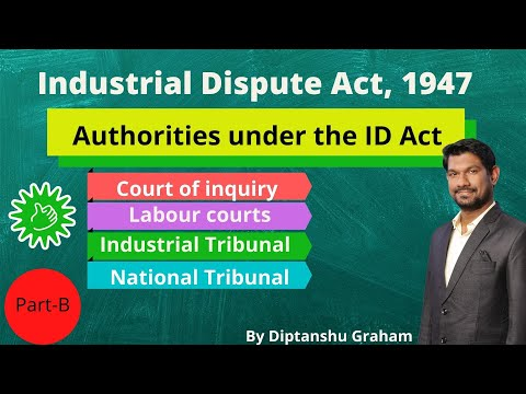 Court of Inquiry/Labour Courts/Industrial Tribunal/National Tibunal