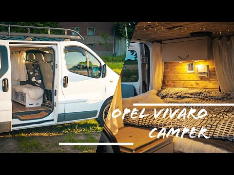 Opel Vivaro   Umbau Zum Camper Van   Roomtour   ähnlich Renault Trafic