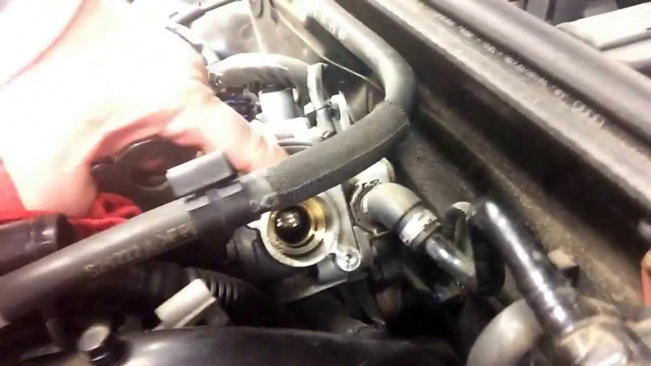 2008 Audi A4 2 0 High Pressure Fuel Pump Failure Youtube