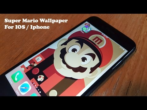 Super Mario Wallpaper for Iphone / IOS - Fliptroniks.com