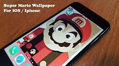 Super Mario Wallpaper for Iphone / IOS - Fliptroniks.com