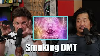 Theo Von Talks With Bobby Lee About Smoking DMT