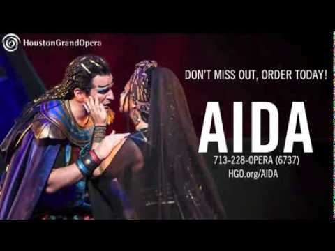 Verdi's AIDA at HGO