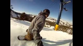 Powder Day Sugar Bowl Go Pro Snowboarding Movie Thumbnail