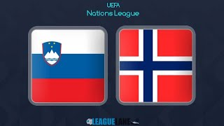 Slovenia 🇸🇮 vs Norway 🇳🇴 1-1 highlights