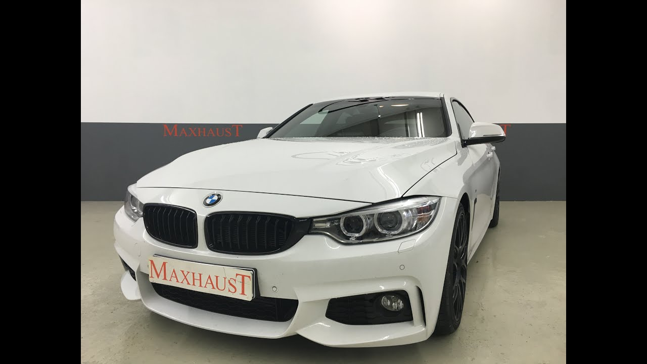 bmw 430d f36 gran coupe by maxhaust exhaust tuning soundbooster youtube. Black Bedroom Furniture Sets. Home Design Ideas
