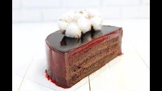 ШОКОЛАДНЫЙ ТОРТ Обалденный / CHOCOLATE SPONGE CAKE