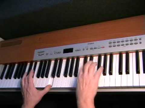 Green Onions (organ solo cover version)