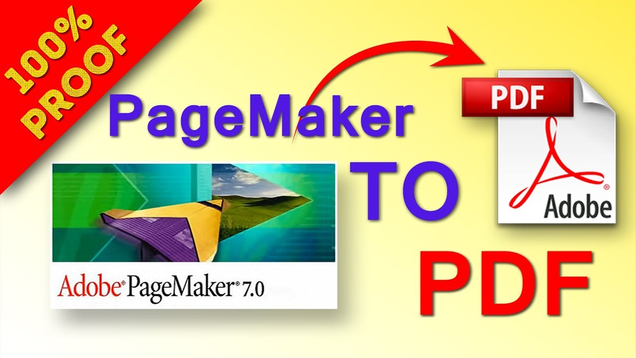 adobe pagemaker 7.0to pdf converter