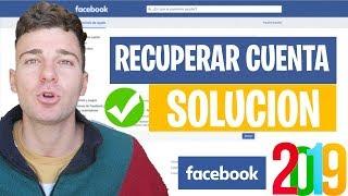 Recuperar Cuenta Facebook Bloqueada 2019 | Sin correo, telefono ✅ SOLUCION