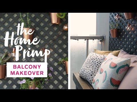 Small Condo Balcony Gets A Major Makeover On A Budget | The Home Primp
