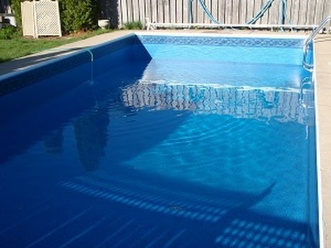 How long does it take to fill a pool youtube How to fix a swimming pool leak