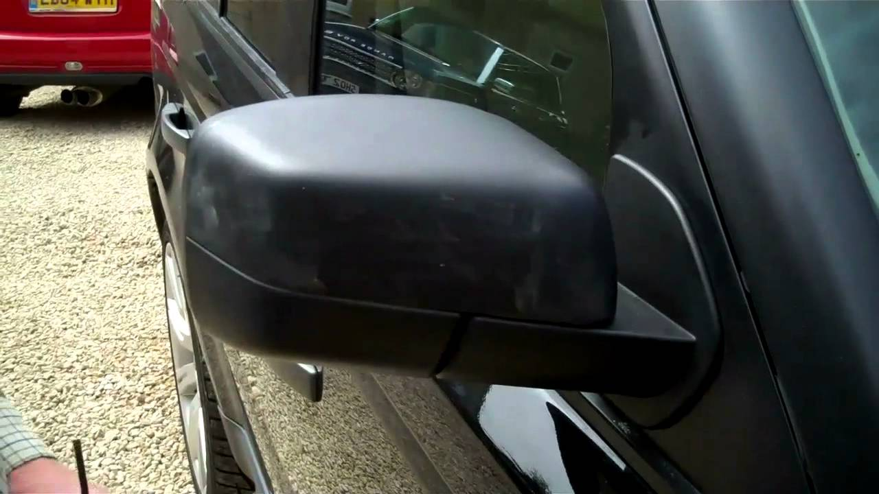 How To Install Led Mirror Covers On Range Rover Sport