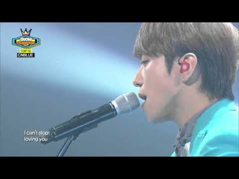CNBLUE - Can't Stop, 씨엔블루 - 캔트스톱, Show Champion 20140305