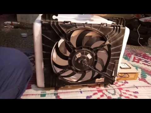 Peltier module based air conditioner using solar energy system