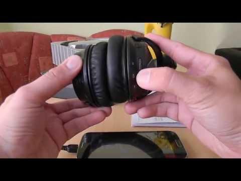 Ausdom M04 Bluetooth Kopfhörer Headset telefonieren Musik hören