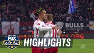 RB Leipzig vs. FC Schalke 04 | 2017-18 Bundesliga Highlights