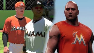 "Miami Marlins Franchise Featuring Dwayne ""The Rock"" Johnson MLB The Show 18 Franchise Mode EP1"