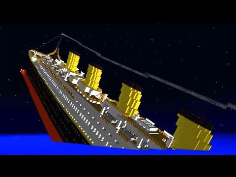 MINECRAFT EL TITANIC