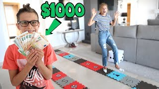 GIANT BOARD GAME CHALLENGE!!! Winner gets $1000!!!!!! Video