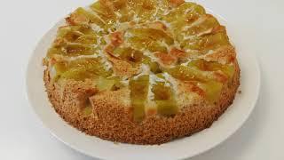 постер к видео -53 кг. Десерт для похудения. Ангельский бисквит с яблоком. 99 ккал