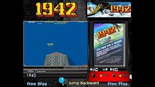 Capcom Classics Collection Vol. 1 (PlayStation 2) - 1942 Game Play