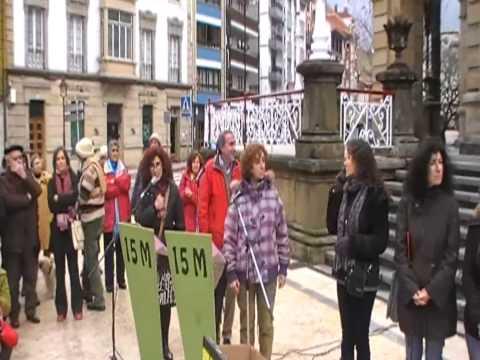CONCENTRACION  Y  LECTURA MANIFIESTO ANTI FRACKING EN VILLAVICIOSA 1 DIC 2012 xvid