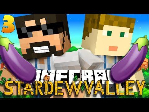 Get Minecraft: STARDEW VALLEY | EGGPLANT EMOJI?! #3 🍆 Pics
