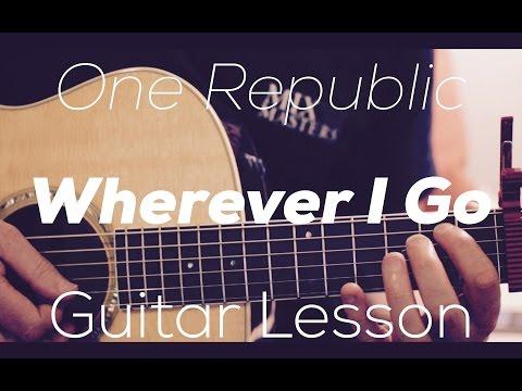 OneRepublic I Lived Guitar Lesson