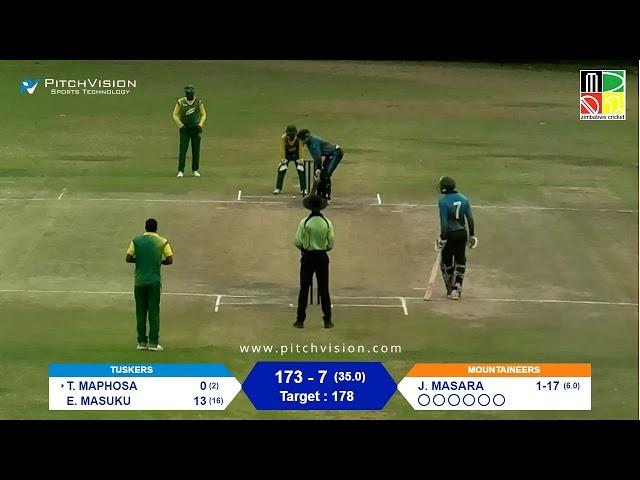 Zimbabwe Domestic Pro 50 Match | Mountaineers vs Tuskers