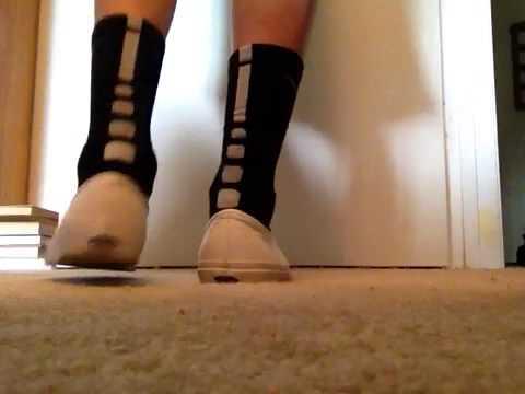 white slip on vans with socks